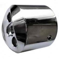 Муфта соединительная алюминиевая для трубы 40мм